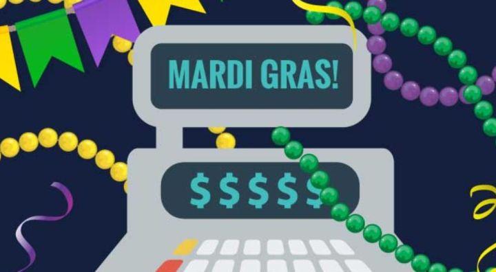 Image result for new orleans tourism mardi gras revenue