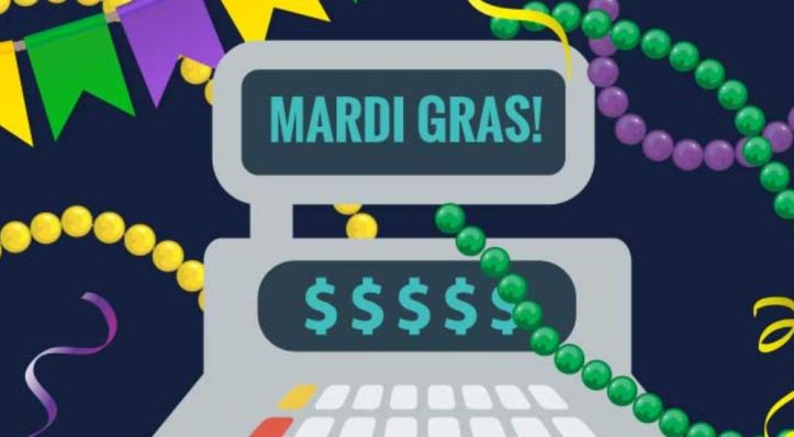 Image result for new orleans tourism mardi gras revenue