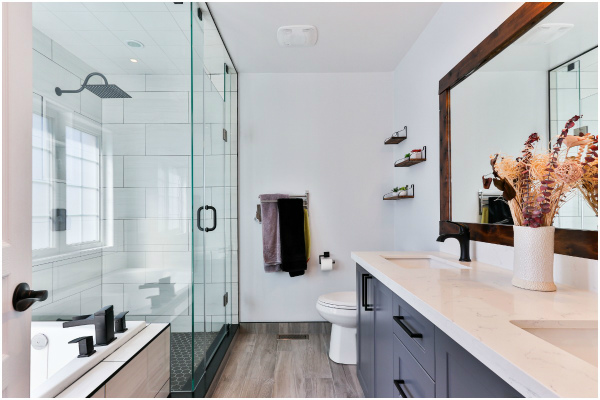 organize bathroom without buying anything