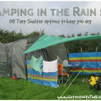 The Tarp and Your Tent - How to Keep Dry When Camping