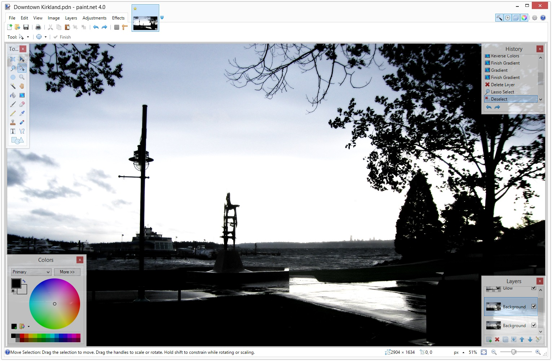 paint net-resim düzenleme-image editing