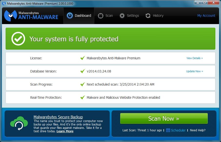 malwarebytes 2.2.0 key