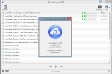 4K YouTube to MP3 Crack Free Download