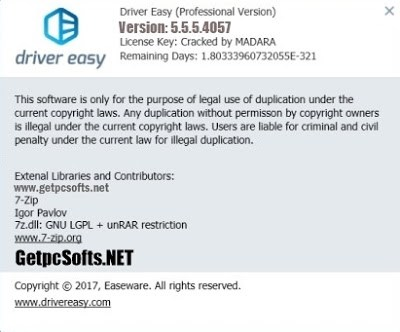driver easy v 5.6.2 license key