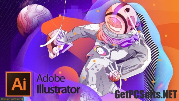 Adobe Illustrator CC 2018 With Crack [32-bit & 64-bit]