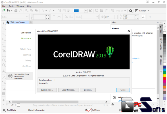 coreldraw graphic suite 2019 Crack free download