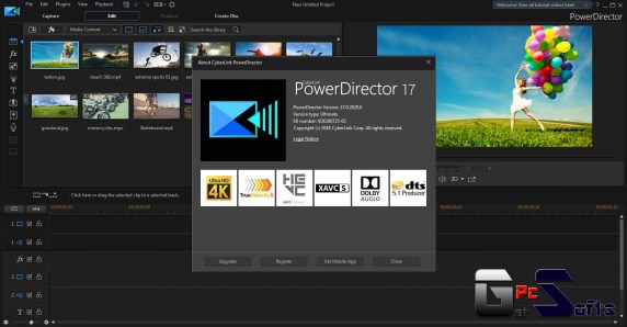 PowerDirecter Ultimate Crack Free Download