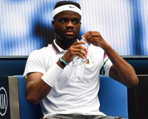 Frances Tiafoe credited a victory in the Australian Open with drinking pickle juice