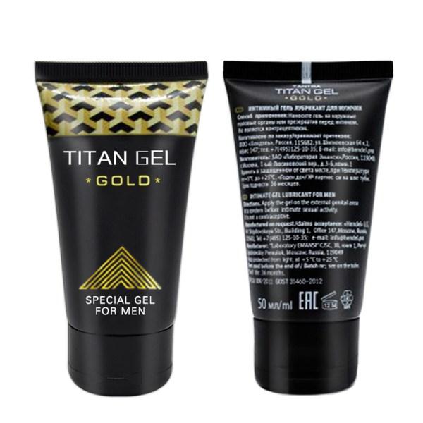 Titan gel gold