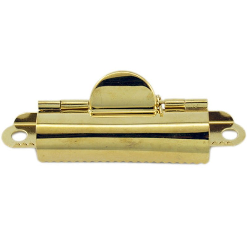 Small Brass Domed Clipboard Clip Pistol Petes