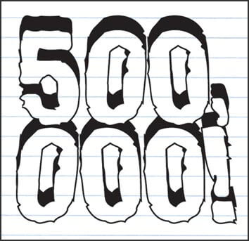 save_500000 Make an extra $500,000 during your medical or dental career