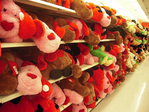 Image result for aisles of stuffed animals