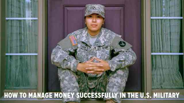 Managing money in the U.S. military
