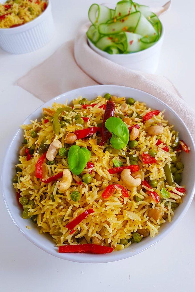 one pot vegan rice
