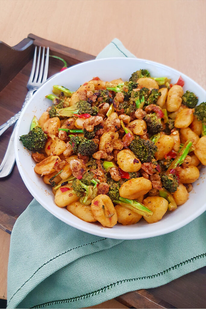 pan fried gnocchi