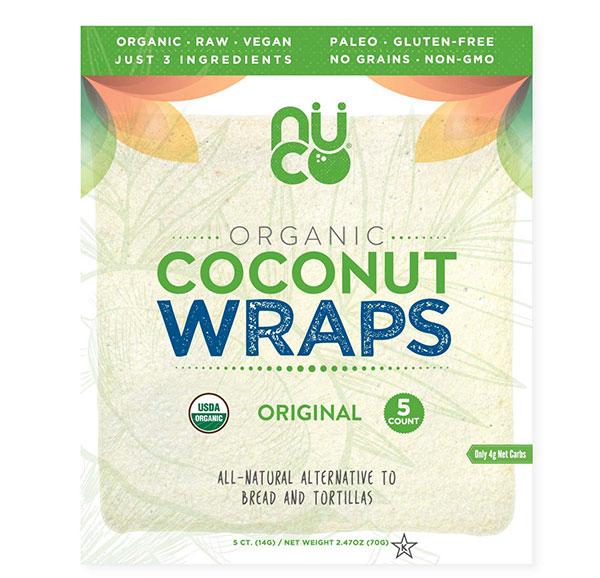 NUCO Certified Organic Coconut Wrap