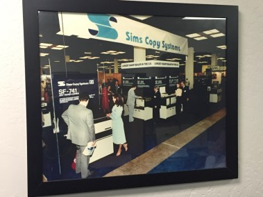 sims history trade show 1970s