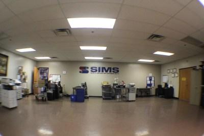 sims service department copiers printers repair techs