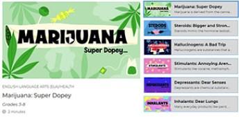 marijuana lesson graphic