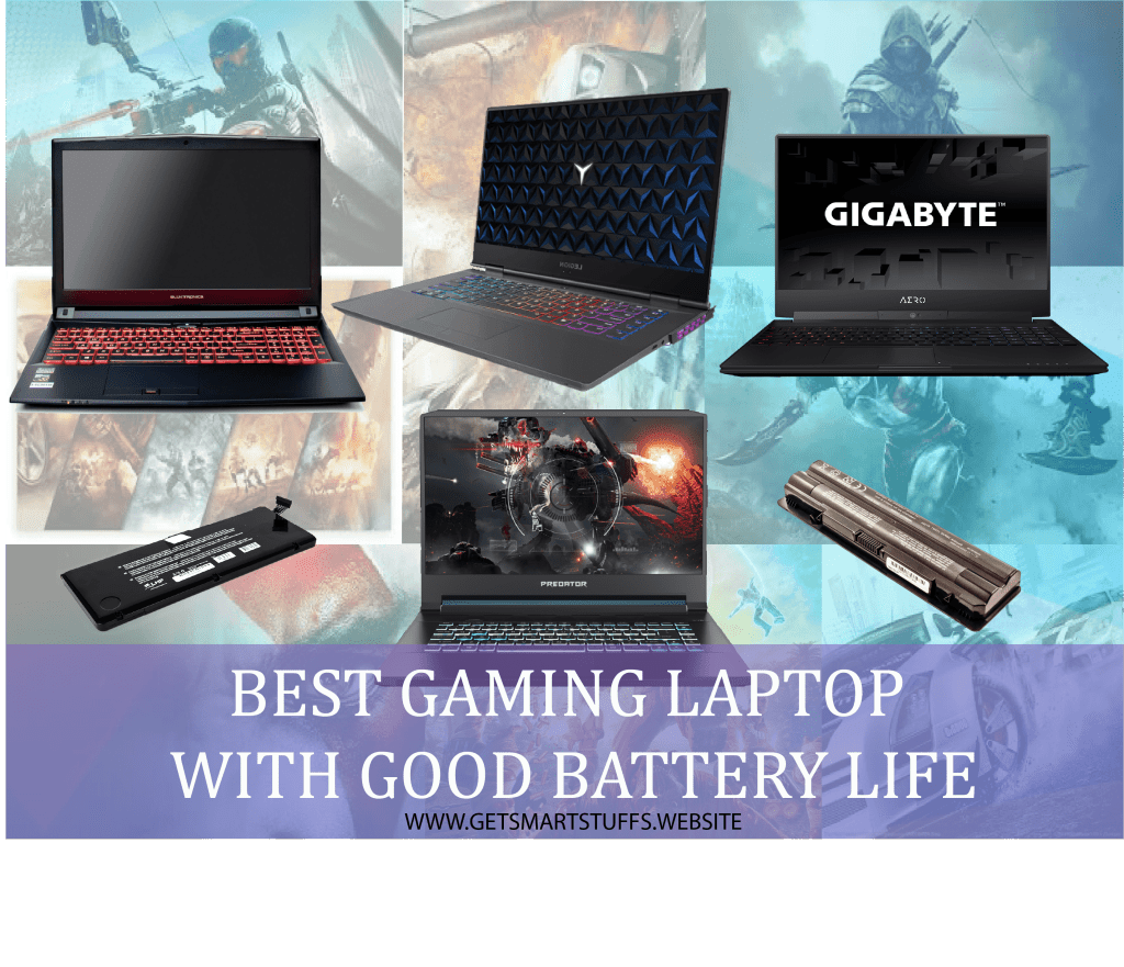 best gaming laptop with good battery life