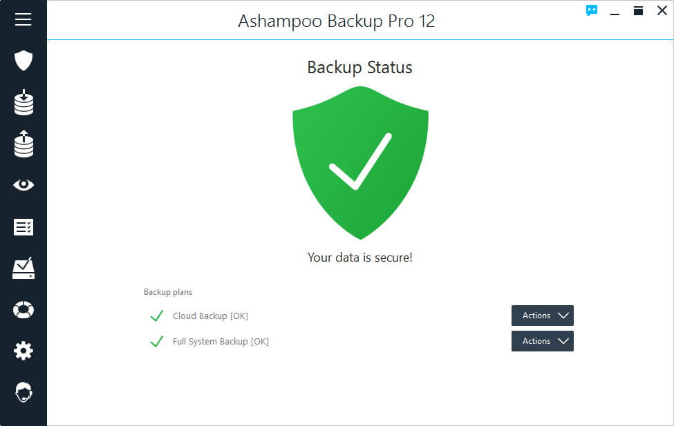 Ashampoo Backup Pro Crack Serial Key