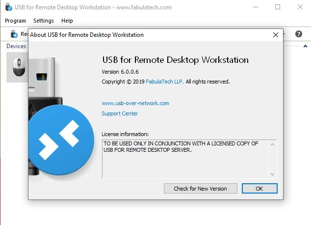 FabulaTech USB for Remote Desktop Crack key