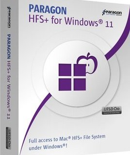 Paragon HFS+ for Windows Crack Key