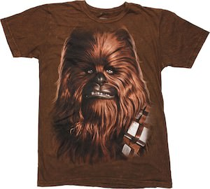 Star Wars brown Chewbacca t-shirt