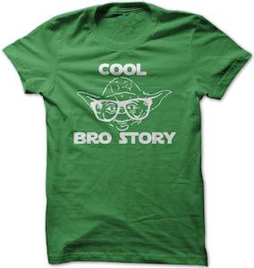 Star Wars Yoda Cool Bro Story T-Shirt