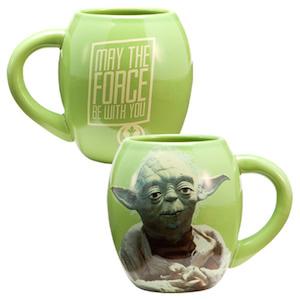 Star Wars Oval Yoda Mug