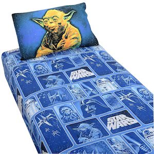 Star wars yoda bedding sheets