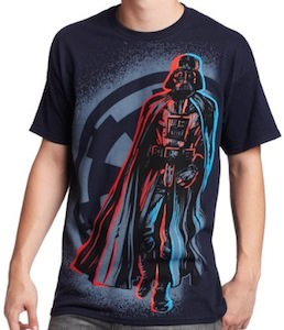 Walking Darth Vader t-shirt