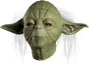 Star Wars mask of Yoda