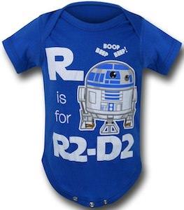 R2-D2 Baby Romper