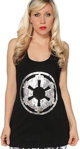 Star Wars Sequin Imperial Logo women's Tank Top