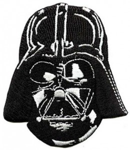 Darth Vader Head Clothing Patch