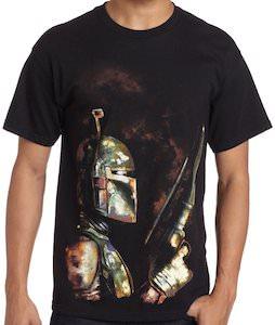 Boba Fett With Gun T-Shirt