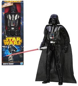 12 inch tall Darth Vader Action Figure