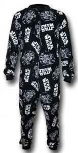 Darth Vader Star Wars Onesie Pajamas