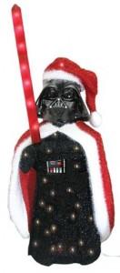 Darth Vader 3D Christmas Lawn Display