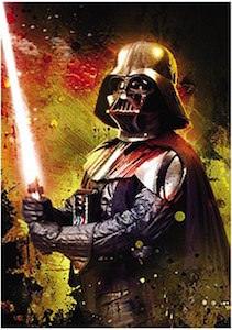 Star Wars Darth Vader With Lightsaber Magnet