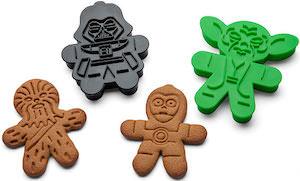 Star Wars Gingerbread Cookie Cutter Set