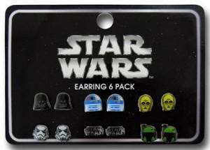 6 Star Wars Earring Pack