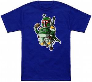 Star Wars Boba Fett VS Boba Fatt T-Shirt