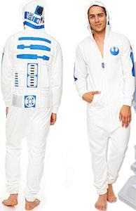 Star Wars R2-D2 Costume Onesie Pajama