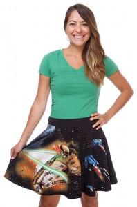 Star Wars Classic Fight Scene Skirt