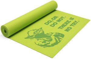 Yoda Green Yoga Mat