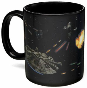 Star Wars Battle Scene Heat Change Mug