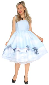 Battle Of Hoth 50's Style Dress