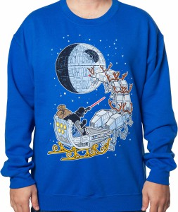 Darth Vader In A Sleigh Christmas Sweater